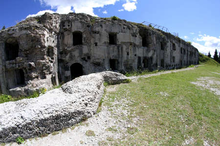 a war historian: Fort Sommo used from the austro Hungarian army during World War I in Italy