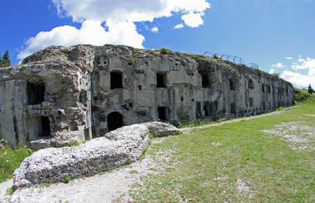 a war historian: Fort Sommo used from the austro Hungarian army during World War I