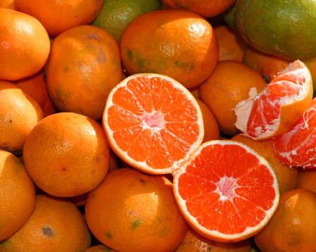 seedless: Seedless ripe Orange for sale at market
