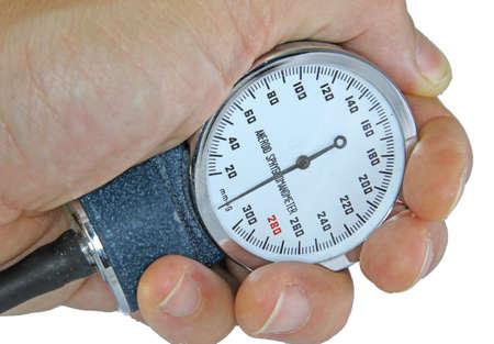aneroid: big Sphygmomanometer with blood pressure meter