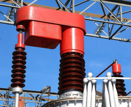 powerhouse: Big Red voltage regulator in a power plant
