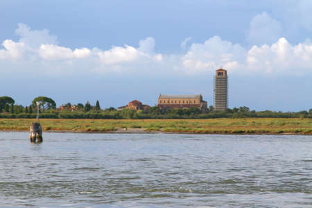 bell tower: bell tower in the Torcello Island near Burano Island