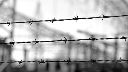 ancinet three lines of barbed wire to demarcate the border does not open