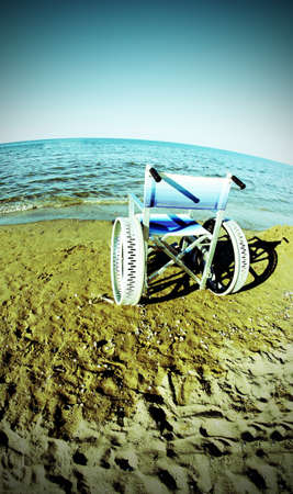 ingenious: ingenious wheelchair to ensure the mobility of disabled people