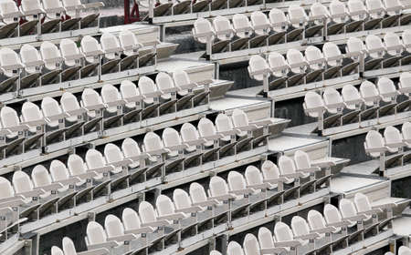 absenteeism: many empty seats in the stands before the sporting event