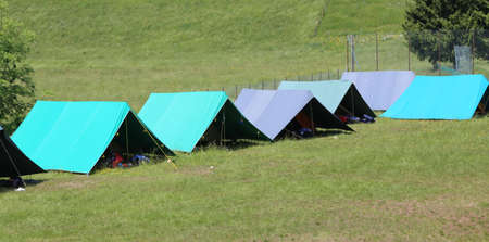 scouting: Boyscout large tents