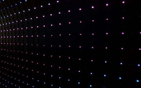 leds: background of many multicolored led lights