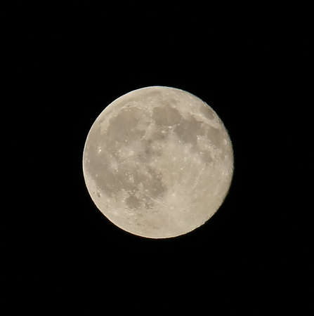 craters: bright full moon with the highly visible craters in the night