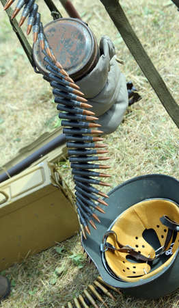 guerrilla warfare: Strip bullets and ammunition army