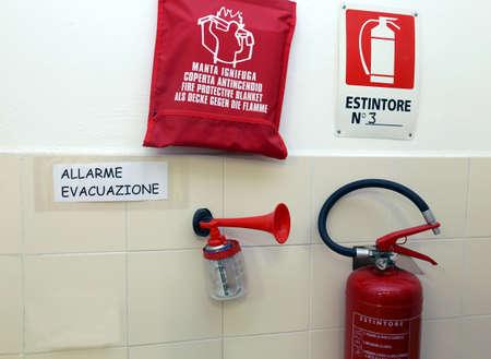 retardant: Dispositivi di segnalazione per la gestione delle emergenze in un vivaio