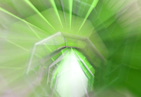 hallucination: as a hallucination of a long spiral staircase with green carpet