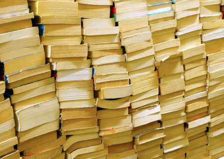 literary: books of all literary genres for sale in a bookshop