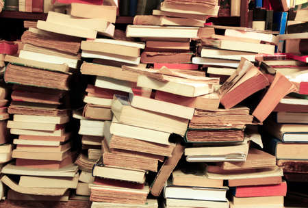 literary: many books of all literary genres for sale in a bookshop