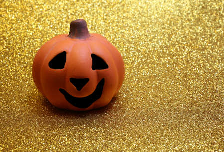 jackolantern: Orange jack-o-lantern, one of the symbols of Halloween