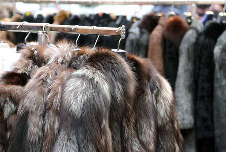 garb: Luxury fur coat very sofly in vintage style