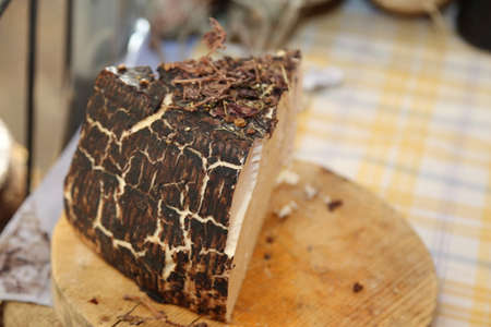 drunkard: tasty cheese called drunkard with raisins