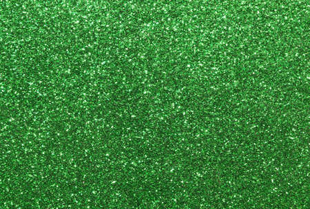 wide glitter background green bright Stock Photo