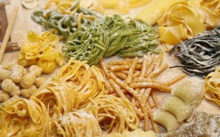 coeliac: gnocchi and  italian spaghetti homemade and other size fresh pasta