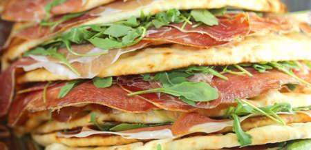 tasty Flatbread for sale in the italian restaurant