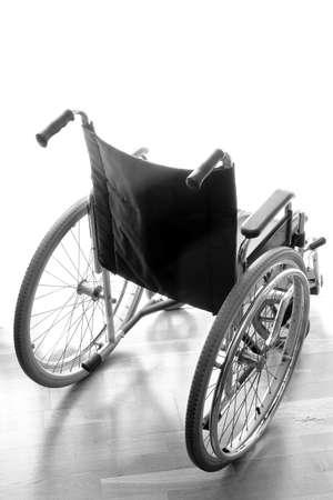 lightweight: modern lightweight wheelchair to help disabled people walking