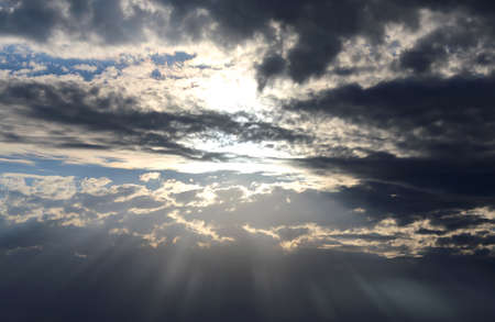 ethos: the god of light that filters through the high clouds