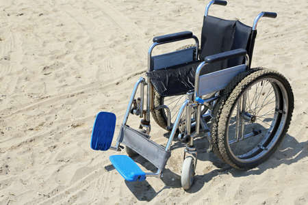 neuromuscular: robust wheelchair made of aluminum with special tires