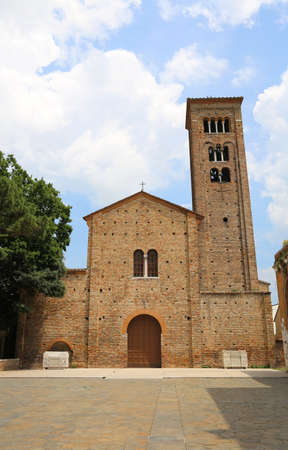 christendom: Ancient basilica dedicated to Saint Francis of Assisi in the city of Ravenna in Italy