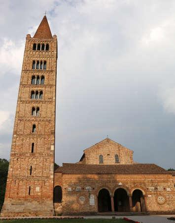 benedictine: Benedictine abbey of the Pomposa in the Emilia Romagna in Italy