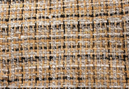 closeup of rough textile woven wires