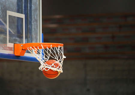 great shooting with basketball in the basket