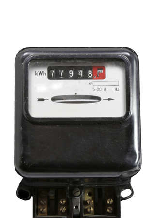 consumed: meter for measuring the electric power consumed