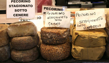 sard: many types of pecorino cheese of the Italian written the cheese maturing type made from  milk of sheep or goat