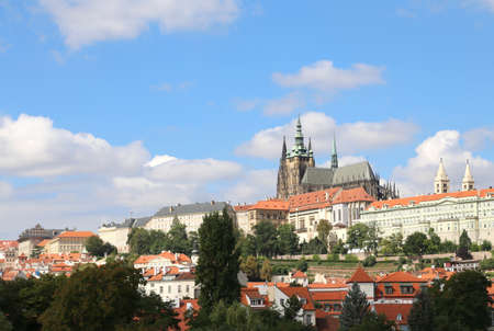 ceska: Saint Vitus Cathedral is situated entirely within the Prague Castle complex In the Czech Republic