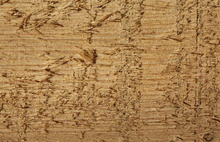 raw brown wood with grain in evidence photographed close up Stock Photo