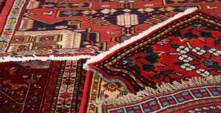 rug texture: many carpets available to be used by people to kneel
