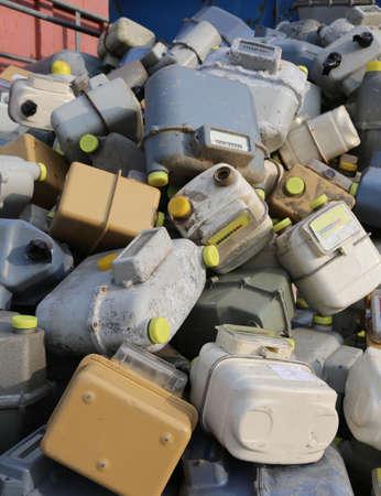 veel geloste gasmeters komen terecht in een stortplaats van gevaarlijk en vervuilend materiaal