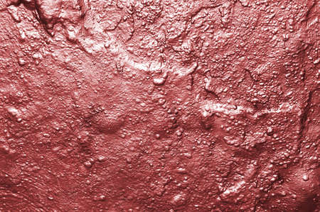 background with wall with bright metallic red paint Stock Photo