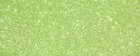 Sfondo Verde scintillante scintillato con luci brillanti e riflessi Archivio Fotografico - 88451554