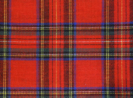 tartan background the classic Scotland fabric with red green and blue motifs