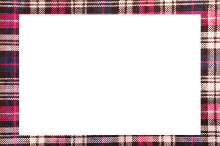 Classic Scottish frame with a white space to write a custom message