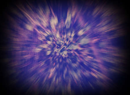 blue and violet abstract background intentionally blurry vignette effect Stock Photo