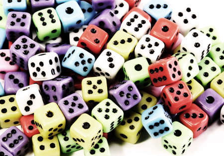many dice to play with very bright effect