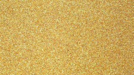 background with sparkles and glitter of GOLDEN color Stock Photo