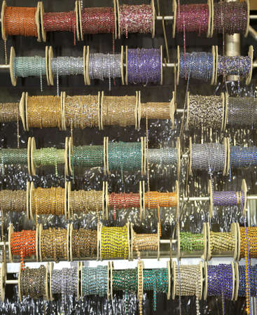 colored spools to make many  necklaces for sale