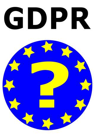 GDPR General Data Protection Regulation. This is a directive of European Union about data protection and privacy