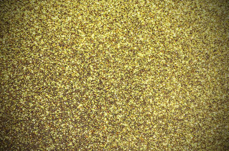 yellow background shining colored gold glitter with vintage effect