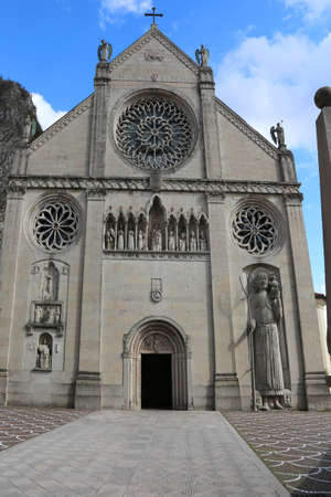 Big Cathedral of Gemona City in northern Italy