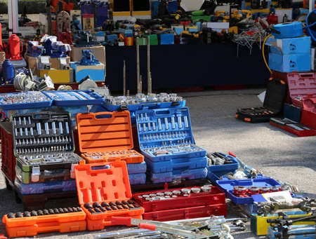 hardware shop with many tools for sale
