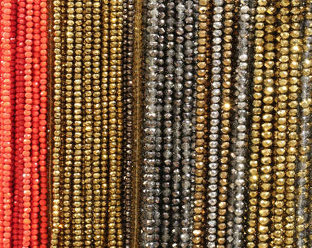 necklaces for sale in the market