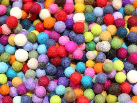 sfondo di tante palline in vendita